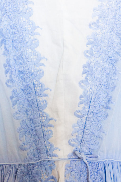 1950s Embroidered Dancing Dress