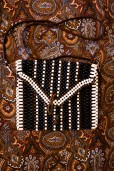 1970s Beaded Stripe Bag