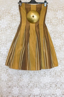 80s Taffeta Prom Dress