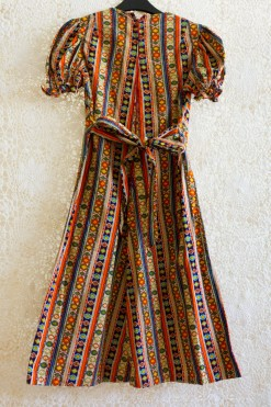 1970s Navajo Midi Dress