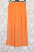 1980s Coral Pleated Skirt
