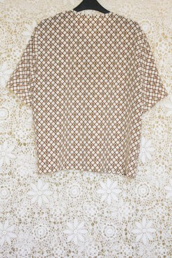 1990s Baroque Boxy Top