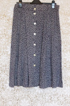 1990s Ditsy Floral Skirt