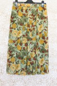 1990s Floral Tropical Skirt