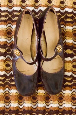 1960s Patent Mary Janes