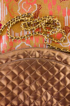 1980s Quilted Chain Bag
