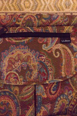 1990s Paisley Tapestry Bag