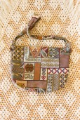 1990s Tapestry Patchwork Bag
