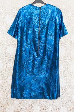 60s Metallic Party Dress