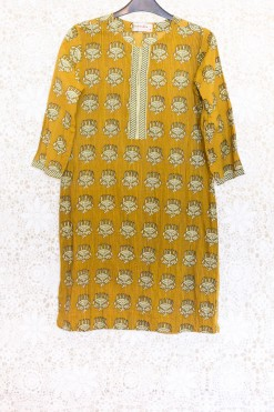 70s Indian Kaftan Dress