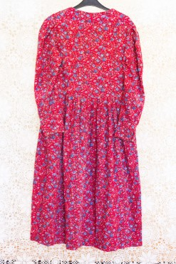 80s Laura Ashley Floral Dress
