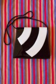 80s Striped Patent Bag