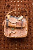 70s Tooled Festival Bag