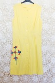 60s Embroidered Sun Dress
