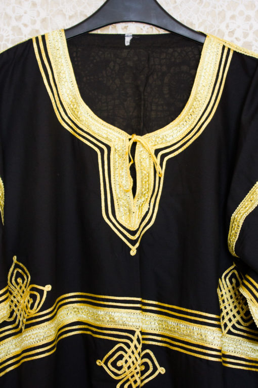70s Embroidered Ethnic Dress