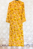 70s Tropical Maxi Dress