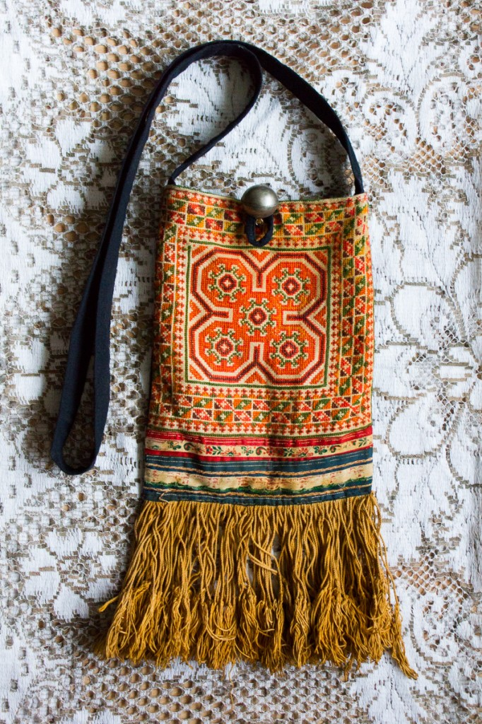90s Fringed Carpet Bag