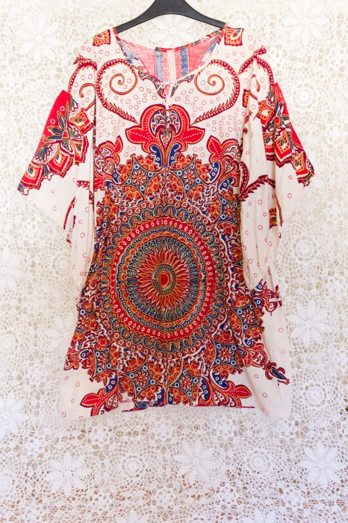 70s Mandala Dashiki Dress