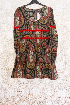 70s Paisley Dollyrockers Dress
