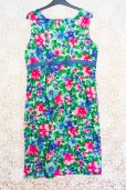 60s Floral Wiggle Dress