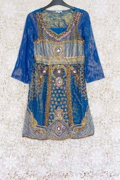 90s Embellished Indian Dress