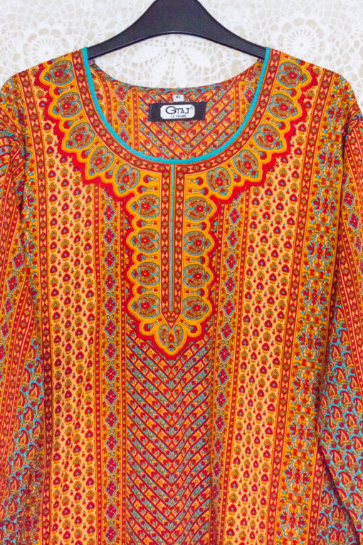 90s Indian Tunic Dress