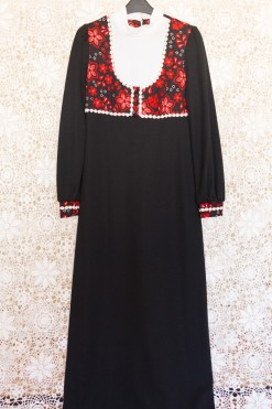 70s Babydoll Maxi Dress
