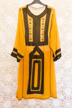 70s Polka Dot Balochi Dress