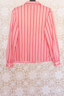 70s Red Striped Shirt