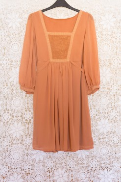 70s Rose Babydoll Dress