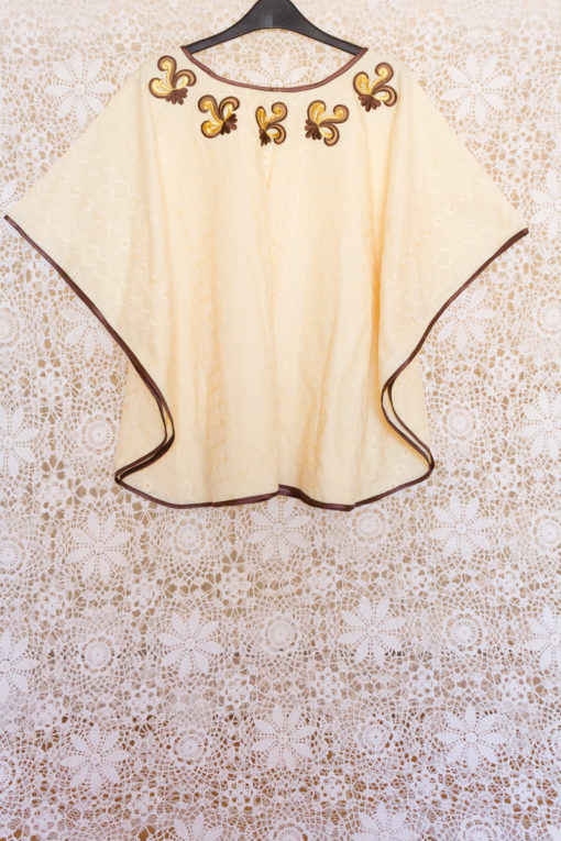 90s Broderie Anglaise Cape