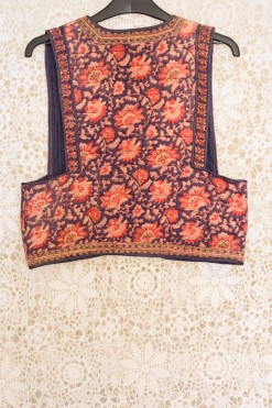 70s Phool Quilted Waistcoat
