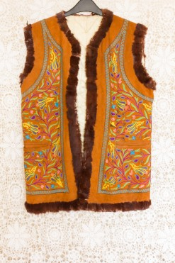70s Embroidered Penny Lane Waistcoat