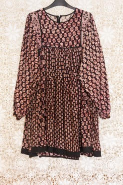 70s Indian Babydoll Dress