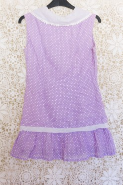 60s Polka Dot Mini Dress