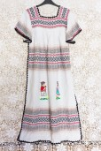 90s Guatemalan Maxi Dress