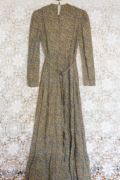 70s Ditsy Broderie Anglaise Dress
