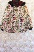 90s Floral Carpet Coat