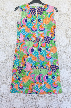 60s Patterned Sun Dress