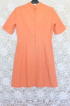60s Peach Mod Dress