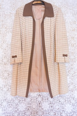 60s Bow Swing Coat