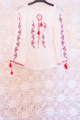 70s Embroidered Gypsy Blouse