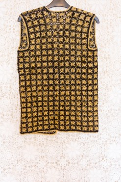 90s Gold Square Waistcoat